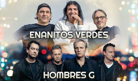 Enanitos Verdes & Hombres G at Nob Hill Masonic Center
