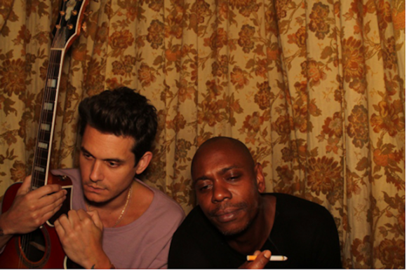 Dave Chappelle & John Mayer at Nob Hill Masonic Center