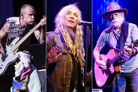 Pathway to Paris: Patti Smith, Bob Weir, Eric Burdon & Imany at Nob Hill Masonic Center