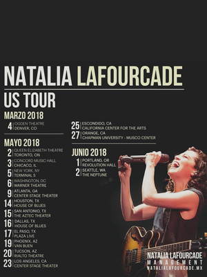 Natalia LaFourcade at Nob Hill Masonic Center