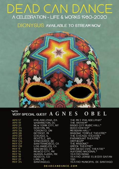Dead Can Dance & Agnes Obel at Nob Hill Masonic Center