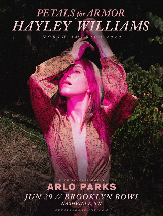 Hayley Williams & Arlo Parks [CANCELLED] at Nob Hill Masonic Center